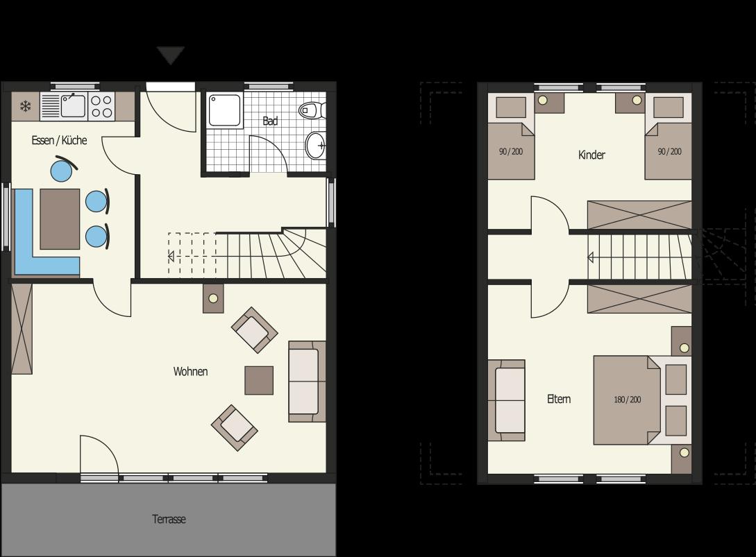 ferienhaus hessen odenwald ferienhaus 2 in mossautal h ttenthal waldhubenhof. Black Bedroom Furniture Sets. Home Design Ideas